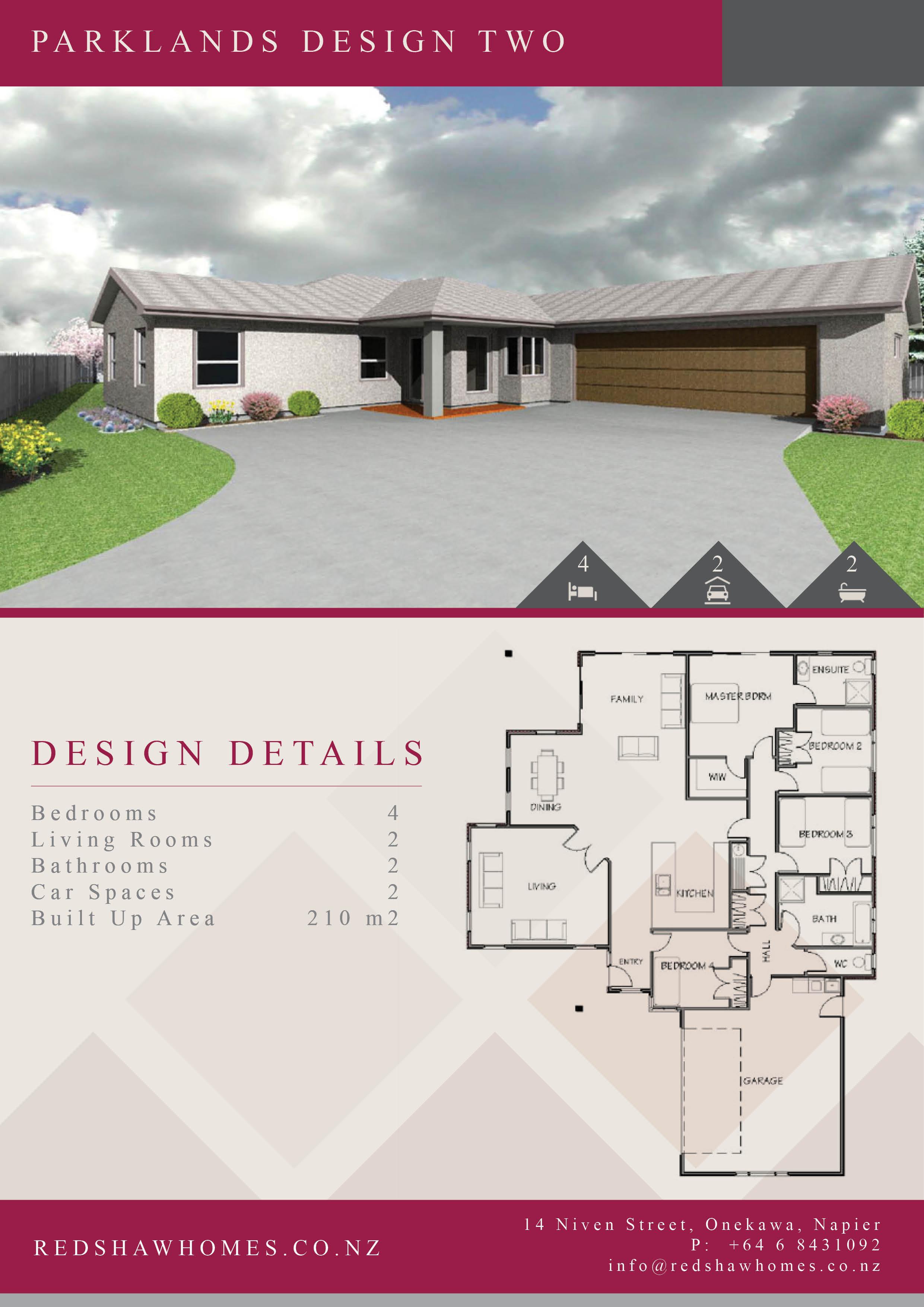 Home Designs - Redshaw Homes