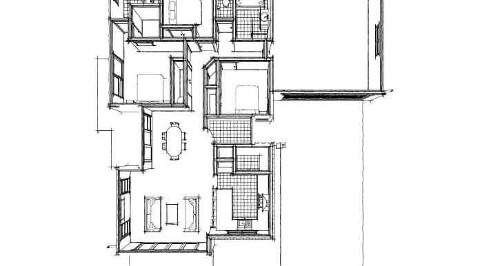 TE427 floor b&w